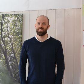 Vernepleier Andreas Haga Skjetne.