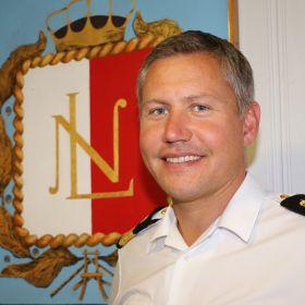 Henning Andresen er los på Hvasser losstasjon.