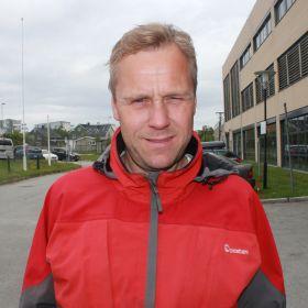 Postbud Gudmund Andreassen i Bodø