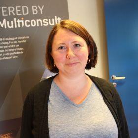 Teknisk tegner Merethe Svendgård i Multiconsult