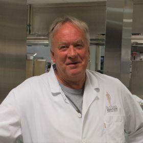 Gunnar Kvamme er kostøkonom ved St. Olavs hospital