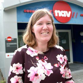 Heidi Holm jobber som tolk i Nav.