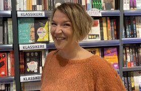 Camilla Myrslo i Ark butikken hvor hun jobber i Oslo.