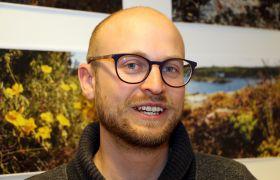 Økolog Torbjørn Kornstad på kontoret i Nordconsult