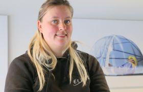 Marianne Wilhelmsen er telekommunikasjonsmontør.