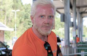 Gjenvinningsoperatør Emil Alexander Aasmundsen.