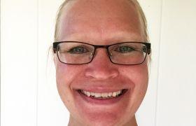 Ann-Cathrin Evensen er togleder
