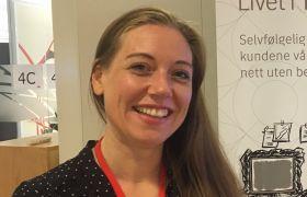 Helene Aardals jobb er å sette riktig pris på forsikringspremier.