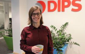 Interaksjonsdesigner Katrine Stavrum Johansen i Dips
