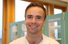 Øystein Sverdrup  er straks ferdig spesialist i mikrobiologi.