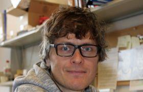 Portrett cellebiolog Frode Miltzow Skjeldal