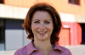 Portrettfoto av institusjonskokk Heidi Ødegård.