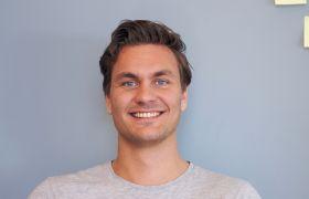 Forretningsutvikler Jens Rask-Jensen har jobbet hardt for å komme dit han er i dag.