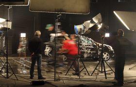 Regissør i filmstudio