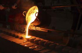 Flytende metall i støperi