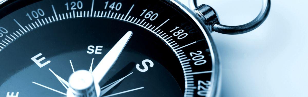 Illustrasjonsbilde av kompass