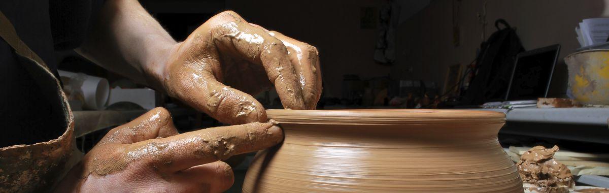 Keramiker i arbeid