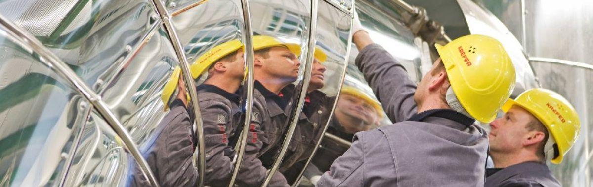 Isolatører i arbeid