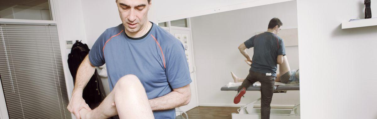 Fysioterapeut.