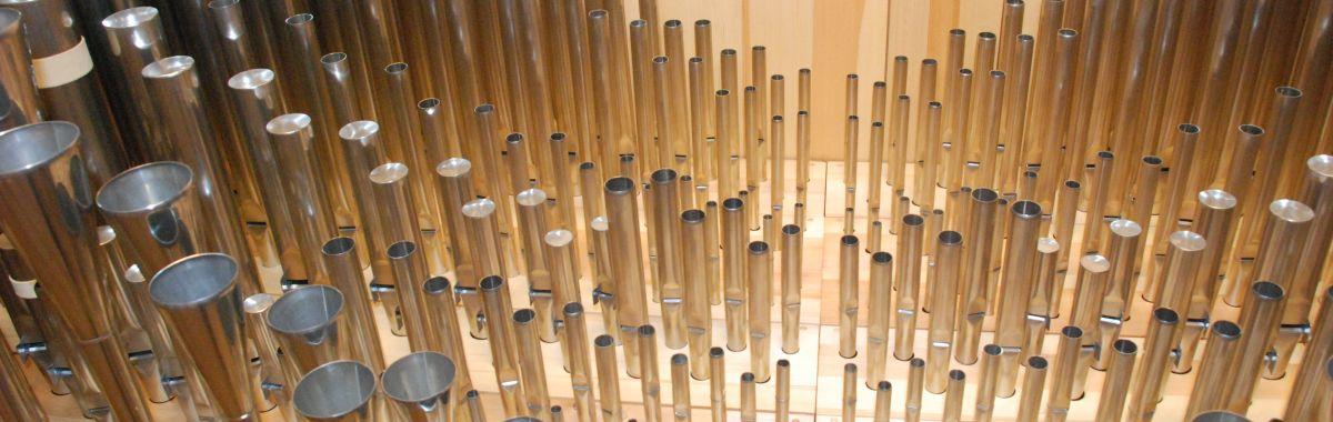 Illustrasjonsfoto av orgel.