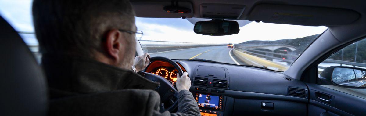 lønn budbilsjåfør