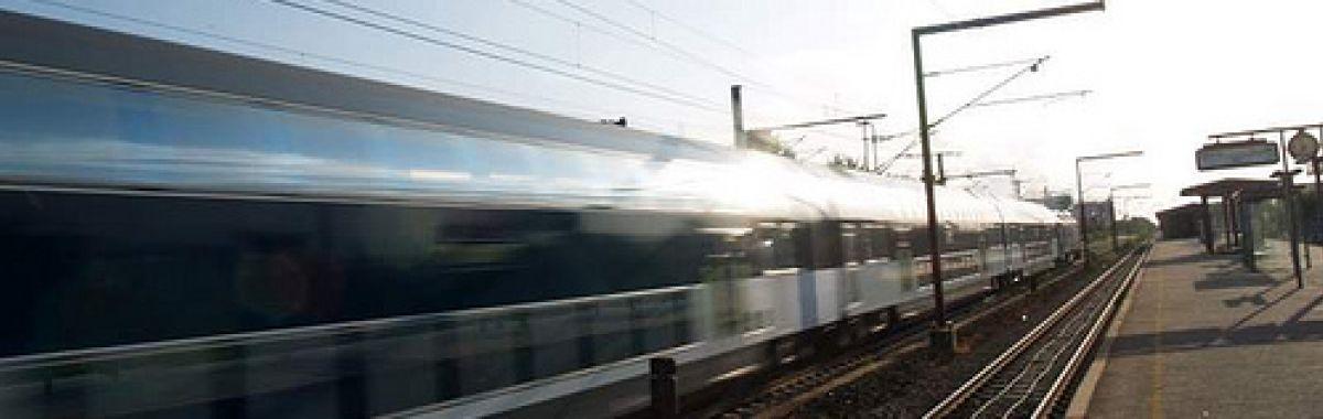 Illustrasjonsbilde av en togstasjon.